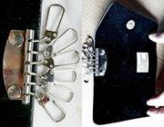 Neues Echtleder-Schlüssel-Etui für 6 Schlüssel