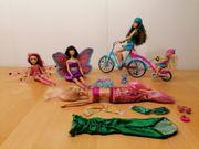 Barbie Konvolut mit Feen Meerjungfrau