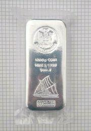 Münzbarren Silber FIJI 1 kg