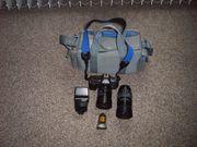 Kamera-Set Yashica mit Zubehör