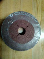 50 Vulkanfiberscheiben 115X22 mm Korn