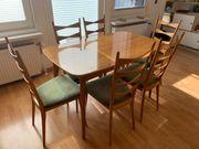 Lübke Esstisch mit 6 Stühlen