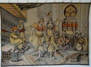 Gobelin Bildteppich antik groß G013