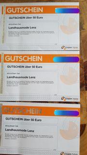 Gutscheine Landhausmode Lenz Schwarzach