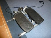 Stepper mit Expander Fitnesstrainer Swing-Stepper
