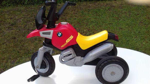 BMW-Kindermotorrad Dreirad zum Treten