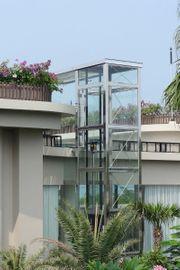 Liftkonstruktionen mit Vordach