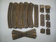 13 Märklin H0 M-Gleis Schienen