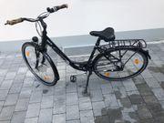 Damen Fahrrad gepflegt