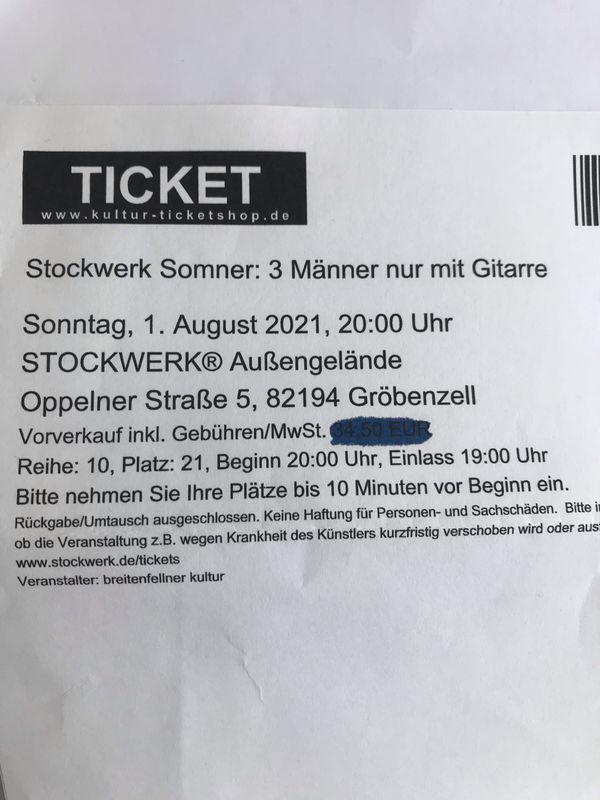 Tickets Last Minute 3 Männer