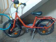 Verkaufe 16er Kinderfhrrad gebr Zustand-Helm