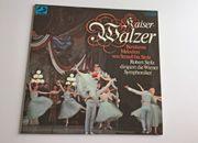 Doppel LP Kaiserwalzer Schallplatte
