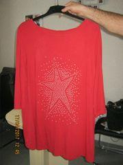 Größe 52 Rotes Shirt mit