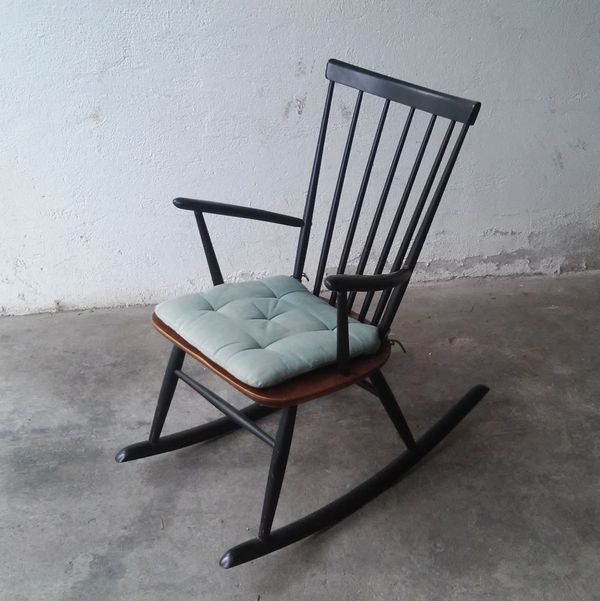 Design Schaukelstuhl 60er Jahre Roland Reiner In Geretsried