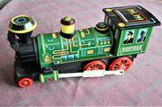 Blechspielzeug Western Lokomotive Dekoartikel