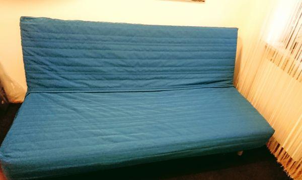 IKEA BEDDINGE Schlafsofa petrol Schlafcouch Couch Sofa VB ...
