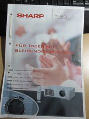 Beamer Sharp PG A20 X