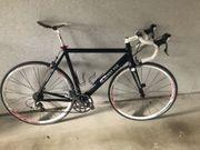 Rennrad schwarz