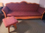 Bauernmöbel Sofa Zirbe historisch