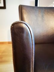 stilwerk Ledersessel Guzzi Antique dunkelbraun -