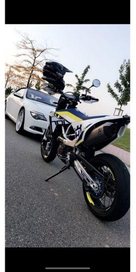 Husqvarna 701 Supermoto Akrapovic: Kleinanzeigen aus Bensheim - Rubrik Sonstige Motorräder