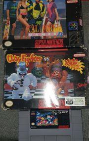 SNES Spielepaket ntsc California Games