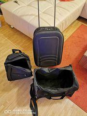 3 tlg Reisekoffer taschen Set