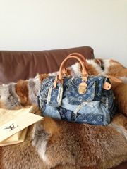 Louis Vuitton Patchwork Denim Limited