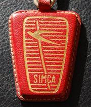 Alter SIMCA Schlüsselanhänger