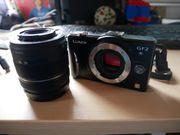 Panasonic GF2 Systemkamera MFT mit