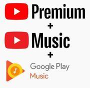 YouTube Musik Premium 6-12 Monate