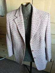 Damen Blazer Jacke rosa rot