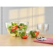 Salatschüsselset Schüssel Salat Glas