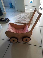 Pinolino Holz-Puppenwagen