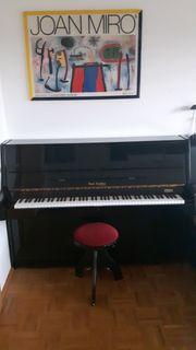 Klavier schwarz Rud Zeittler by