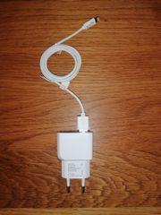 USB Netzteil Ladegerät und Ladekabel