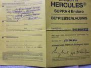 Hercules Supra 4 Enduro Rahmen