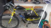 Fahrrad mit Hilfsmotor