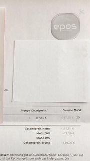 Gutschein Wert EUR429