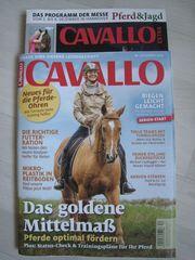 NEU ungelesen Zeitschrift CAVALLO 12