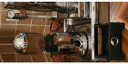 Hebel Espresso-Kaffeemaschine und Kaffemühle