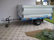 BARTHAU ECO-Toplader 750kg Anhänger ALUAUFSÄTZE
