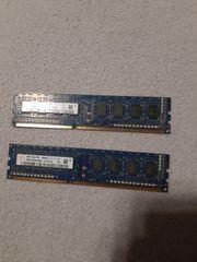 2x 2gb RAM Karten