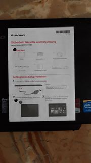 Notebook von Lenovo