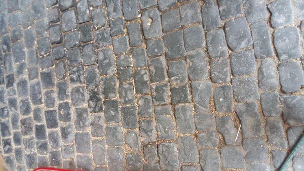 Basalt kopfstein pflaster