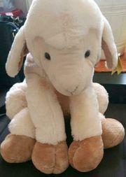 Stofftier Schaf groß