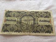 100 Schilling 1945 zu verkaufen