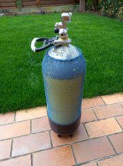 Tauchflasche 15 Liter Stahl Monoventil
