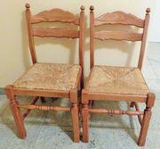 PREIS GESENKT 2 Stühle Eichen-Holz