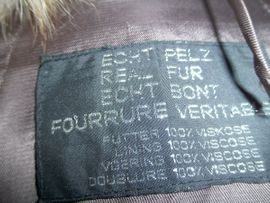 Pelzjacke gr 42: Kleinanzeigen aus Scheinfeld - Rubrik Leder-/Pelzbekleidung, Damen und Herren